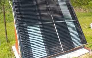 Делаем простой солнечный коллектор из ПНД трубы для нагрева воды в бассейне