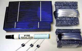 Шины для солнечных элементов