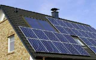 Как установить солнечные батареи на крышу частного дома