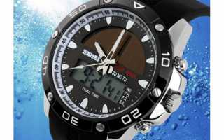 Часы на солнечных батареях от бренда SKMEI