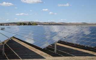 Тепловые солнечные электростанции