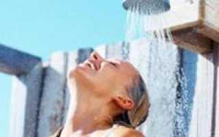 Дачный душ на солнечной энергии