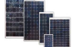 Из чего складывается стоимость панелей для солнечных батареи