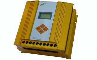 Гибридные контроллеры для ветрогенератора и солнечных батарей
