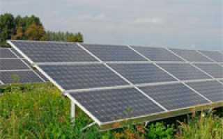 Как выбрать солнечную батарею?