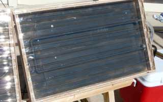 Солнечный коллектор для воды
