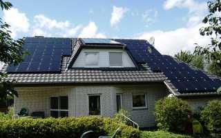 Солнечные батареи для частных домов
