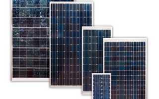 Как выбрать солнечные панели и чем они отличаются