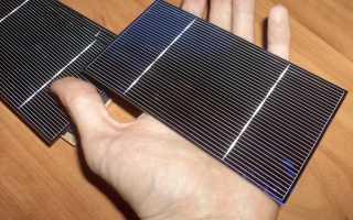 Сборные солнечные батареи