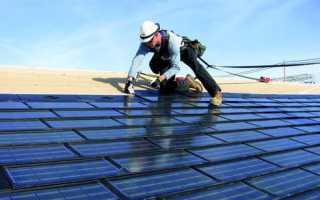 Как правильно установить солнечные батареи для дома или дачи?