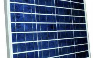 Солнечные батареи мощностью 50 Вт