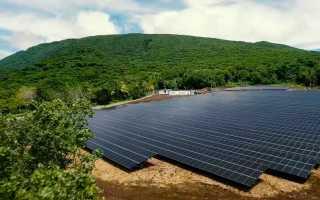 Солнечные батареи от компании Тесла