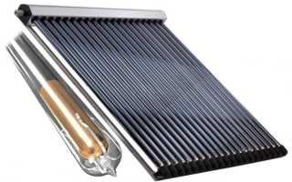 Солнечные коллекторы в системах отопления