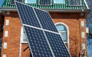 Солнечные батареи на поворотных модулях