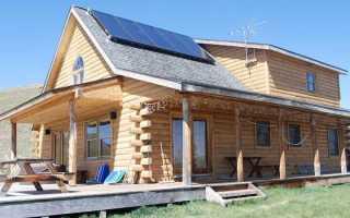 Солнечная электростанция на дом в 200 м2