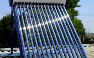 Устройство и принцип действия солнечных коллекторов для дачи
