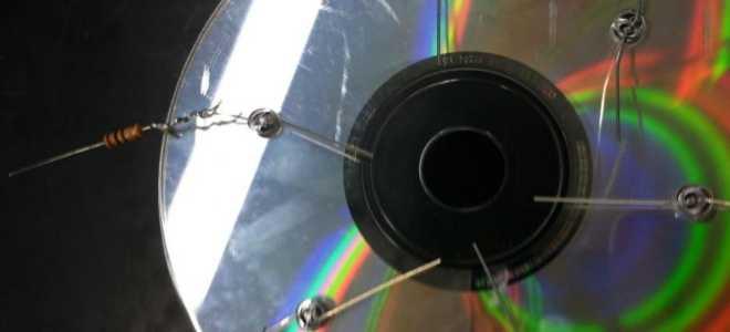 Солнечная батарея из CD-дисков своими руками
