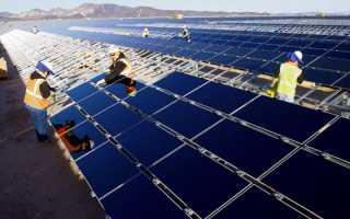 Обзор солнечных батарей компании First Solar
