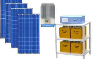 Солнечные батареи для дачи на 3 кВт
