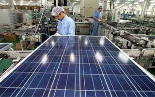 Немного о солнечных панелях Sunways
