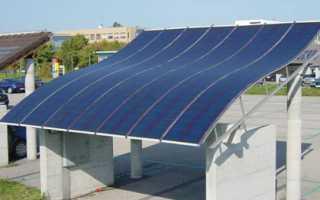 Особенности тонкопленочных солнечных батарей