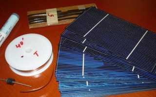 Пайка солнечных панелей своими руками: что нужно знать домашнему мастеру
