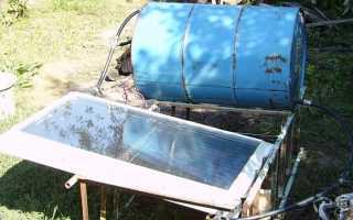 Как сделать плоский солнечный коллектор для отопления