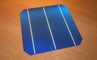 Сборка солнечных элементов своими руками