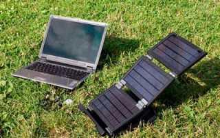 Переносная электростанция на солнечных батареях