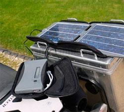 портативное солнечное зарядное устройство