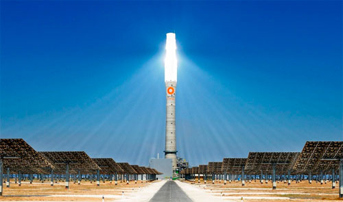 Солнечные тепло-электространции