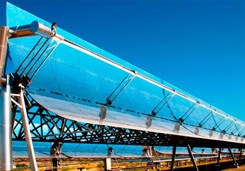 Солнечная тепло-электространция