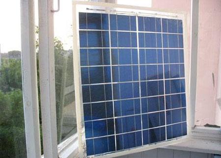 самодельная солнечная электростанция