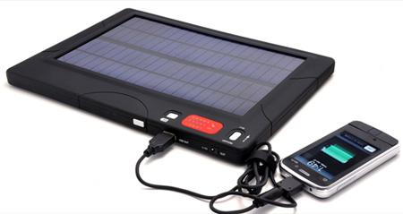 зарядка телефона от солнечной батареи