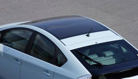 машина с солнечной батарей