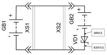 схема зарядного устройства на солнечных батареях