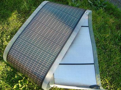 гибкий солнечный модуль