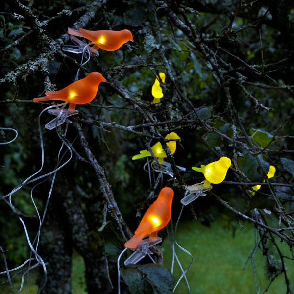 Светящиеся птички