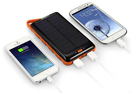 зарядка двух смартфонов