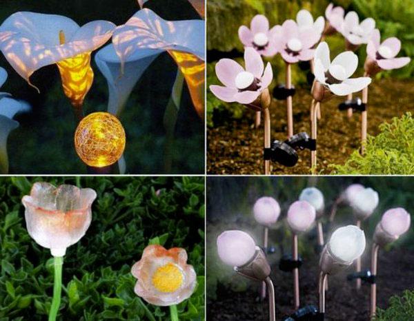светильники-цветы