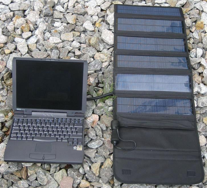 РТ20 заряжает ноутбук