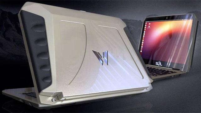 Ноутбук – «солнечный броневик»