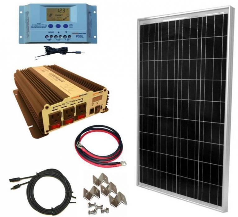 комплект WindyNation 100 Watt