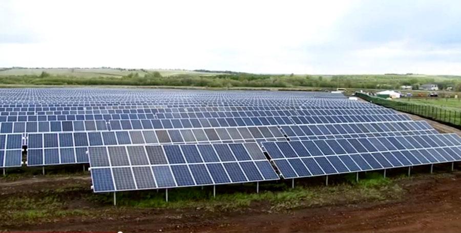 солнечная электростанция Оренбуржья