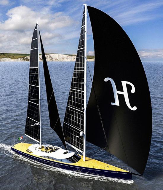 Яхта «Helios»
