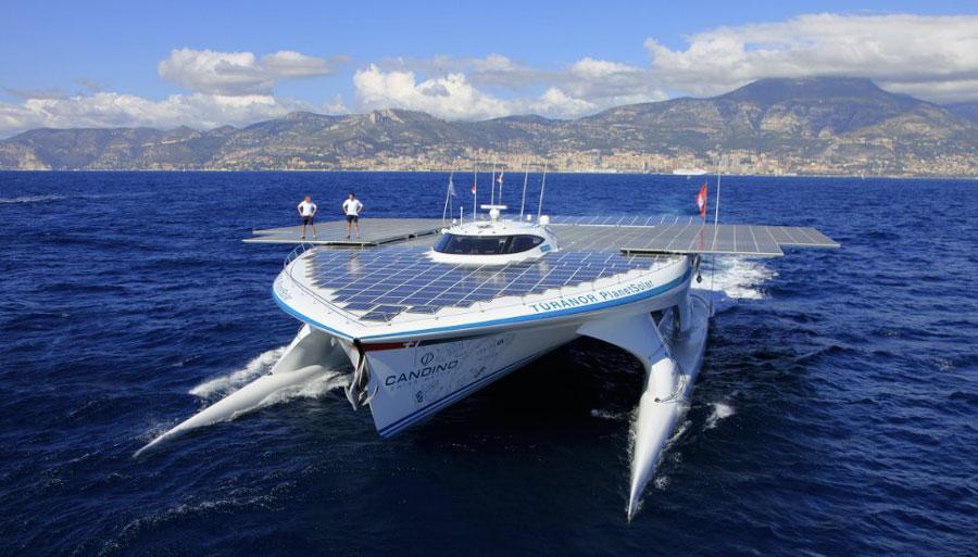 Яхта «Turanor PlanetSolar»
