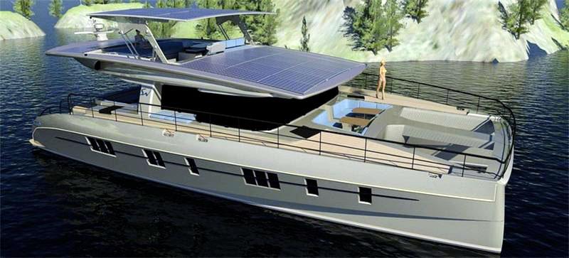 Яхта «Solarwave 62»