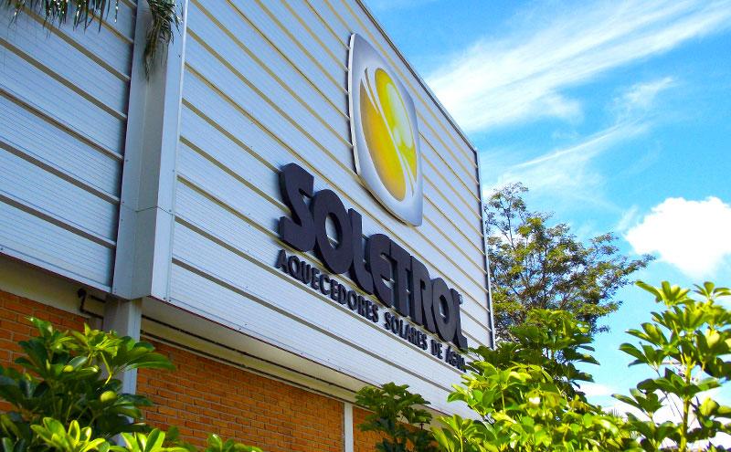 офис компании Soletrol