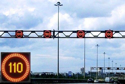 знак «Ограничение скорости»