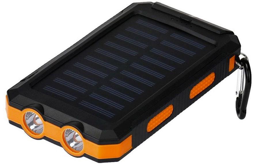 Солнечная панель и фонарь